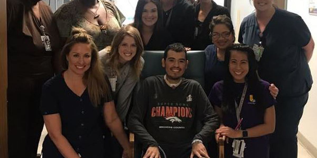 El Compadre shooting victim released from hospital, back at home