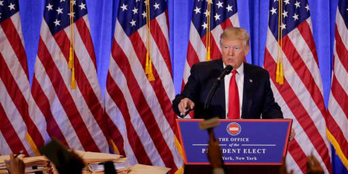 President-elect Trump addresses leaked reports in first news conference since election