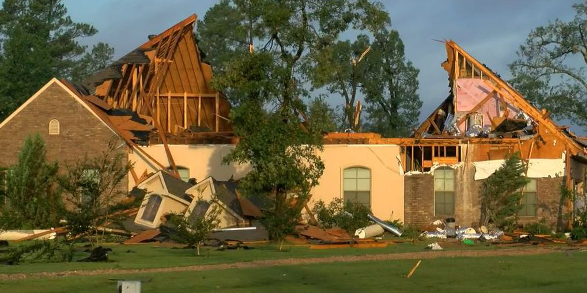 NWS confirms 2 tornadoes hit the ArkLaTex