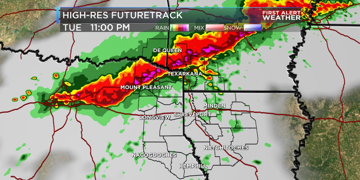 First Alert: Severe storms expected Tuesday evening