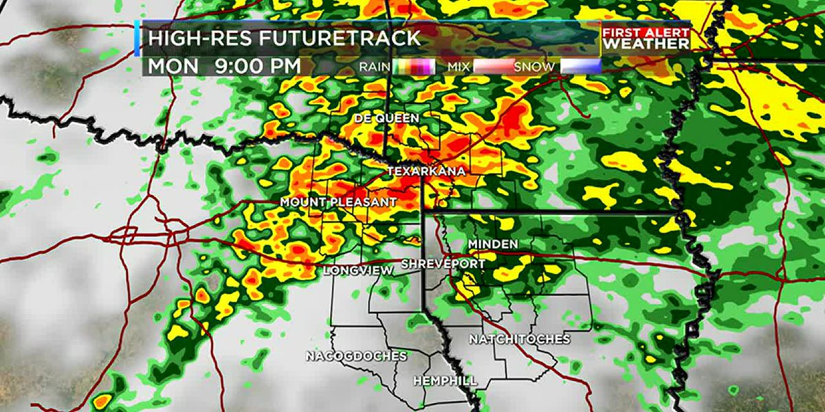 Heavy rain and storms this evening then more rain to end the week
