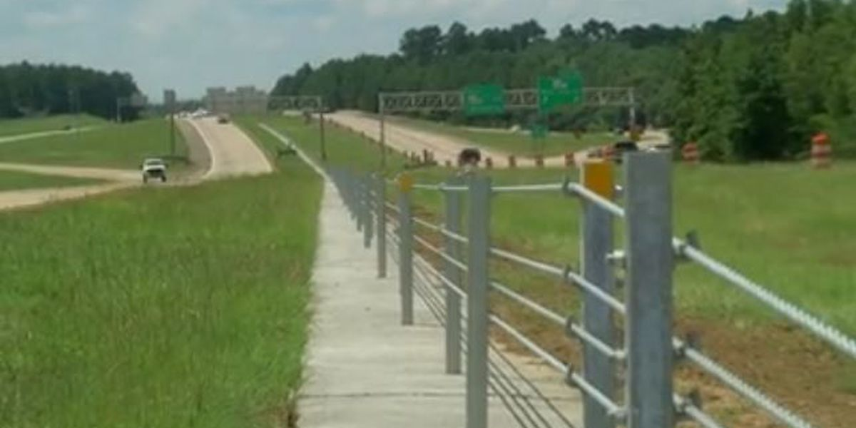 Cable barriers along LA 3132 hit halfway mark