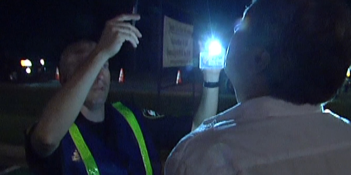Troopers running checkpoint Saturday night in Bossier