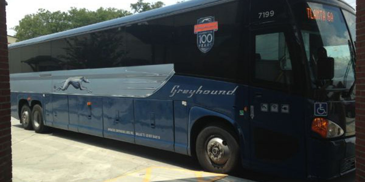 Louisiana Greyhound bus routes affected due to Tropical Storm Barry