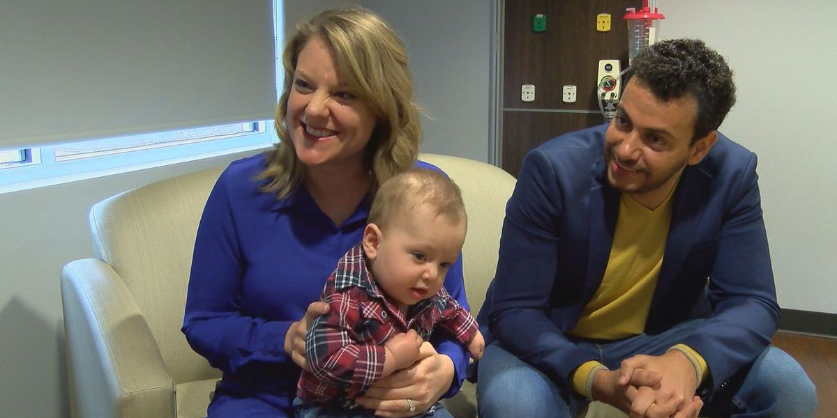 Miracle Monday: Family credits nurses, doctors with saving mom, baby during birth