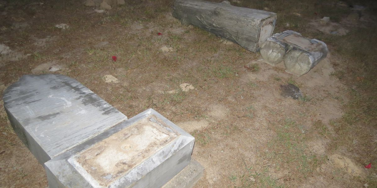 Vandals cause more than $120,000 in damage to historic Henderson County cemetery
