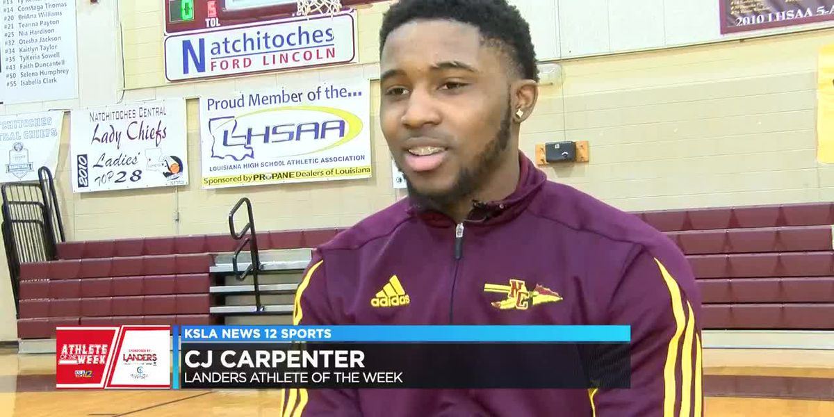 Athlete of the Week: Natchitoches Central's Calvin Carpenter Jr.
