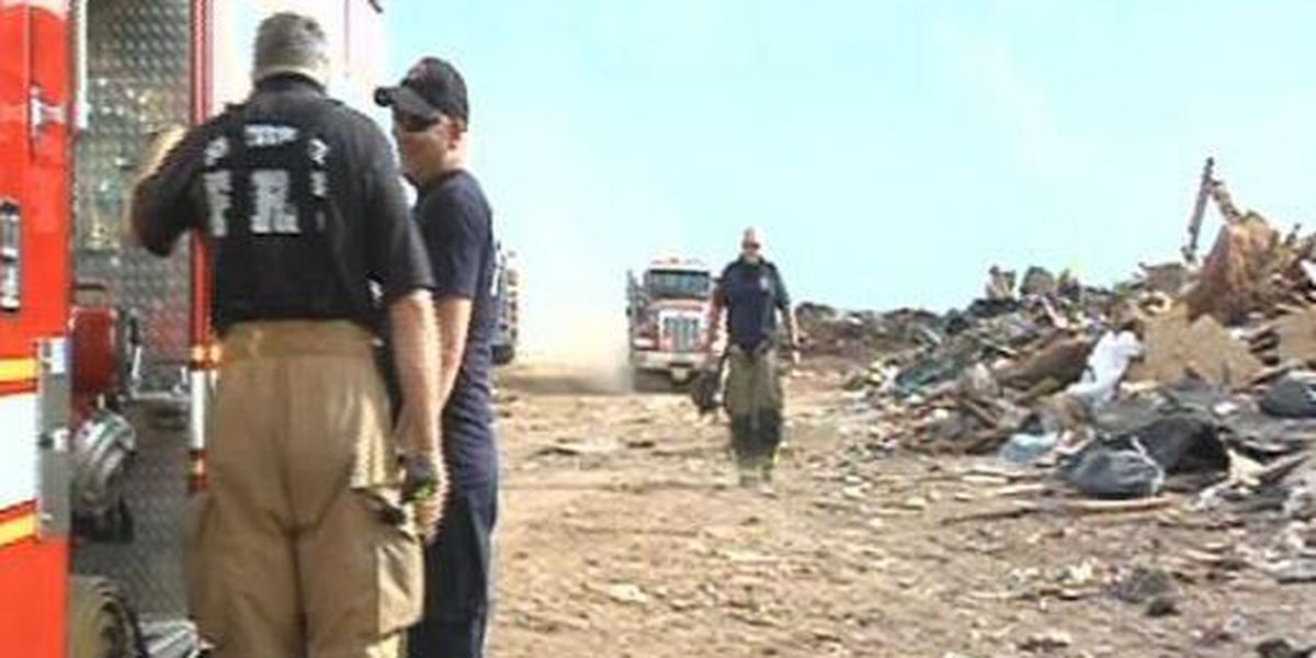 State says landfill must close, put out fire