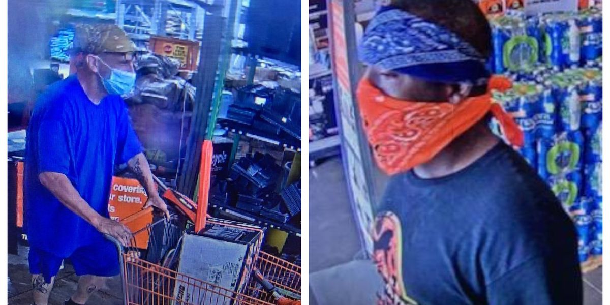 SPD searching for theft suspects
