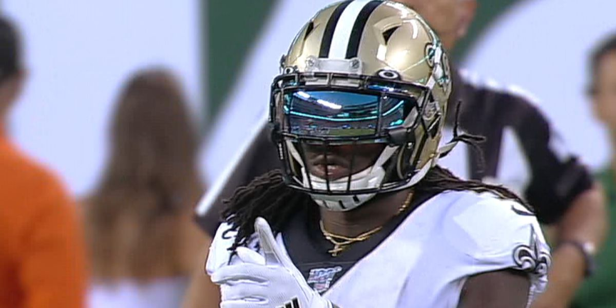 Alvin Kamara's bounce back game comes at the right time
