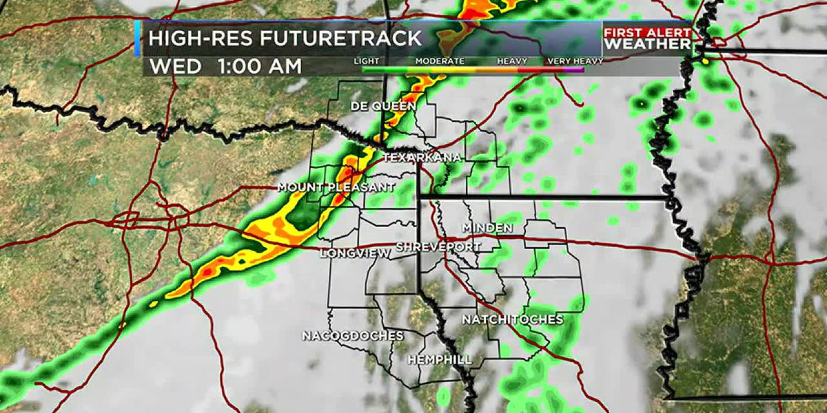 Strong storms possible late Tuesday