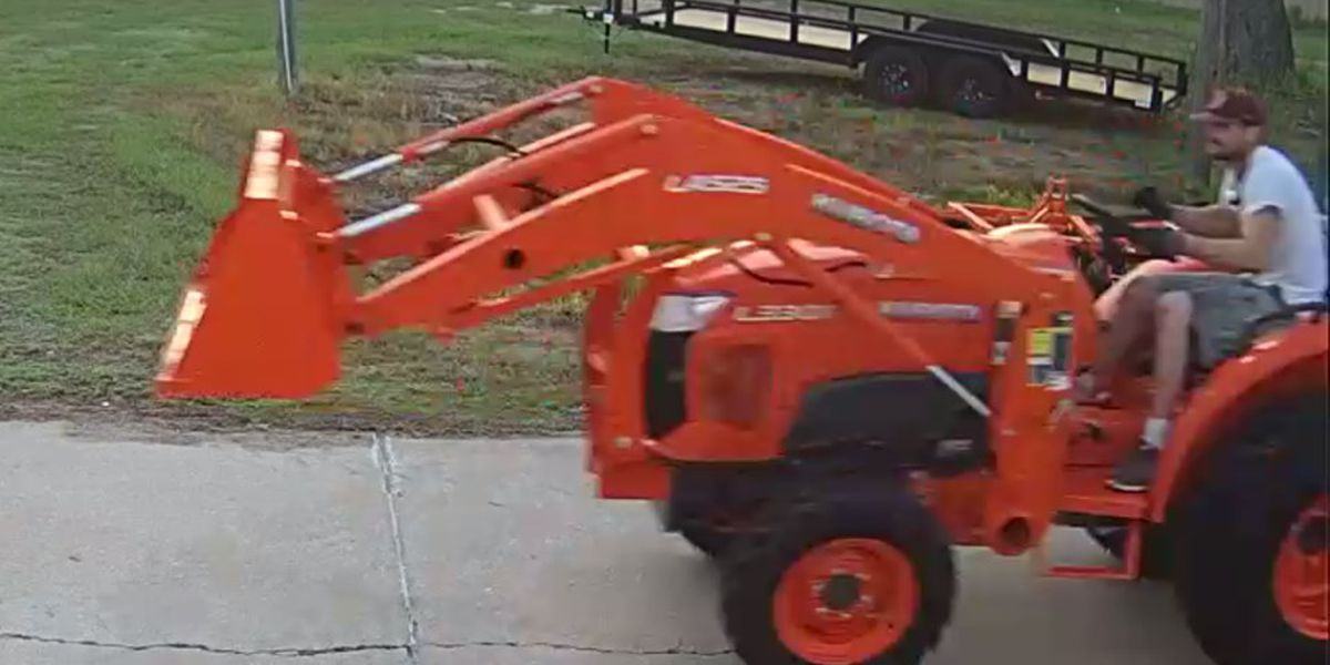 Reward offered for information about tractor theft
