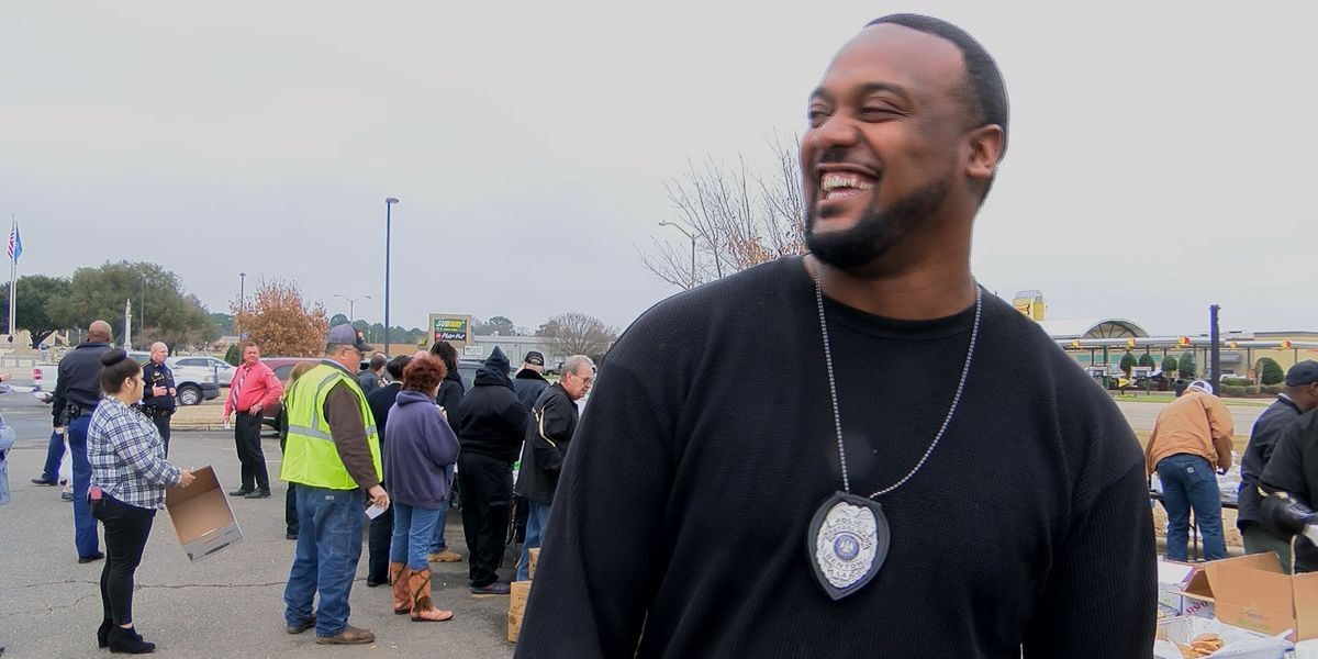 Community cooks up funds for officer who was shocked