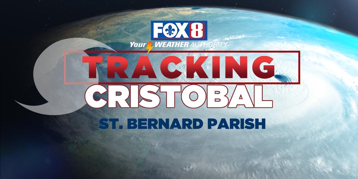 VIDEO: TS Cristobal impacts in St. Bernard Parish