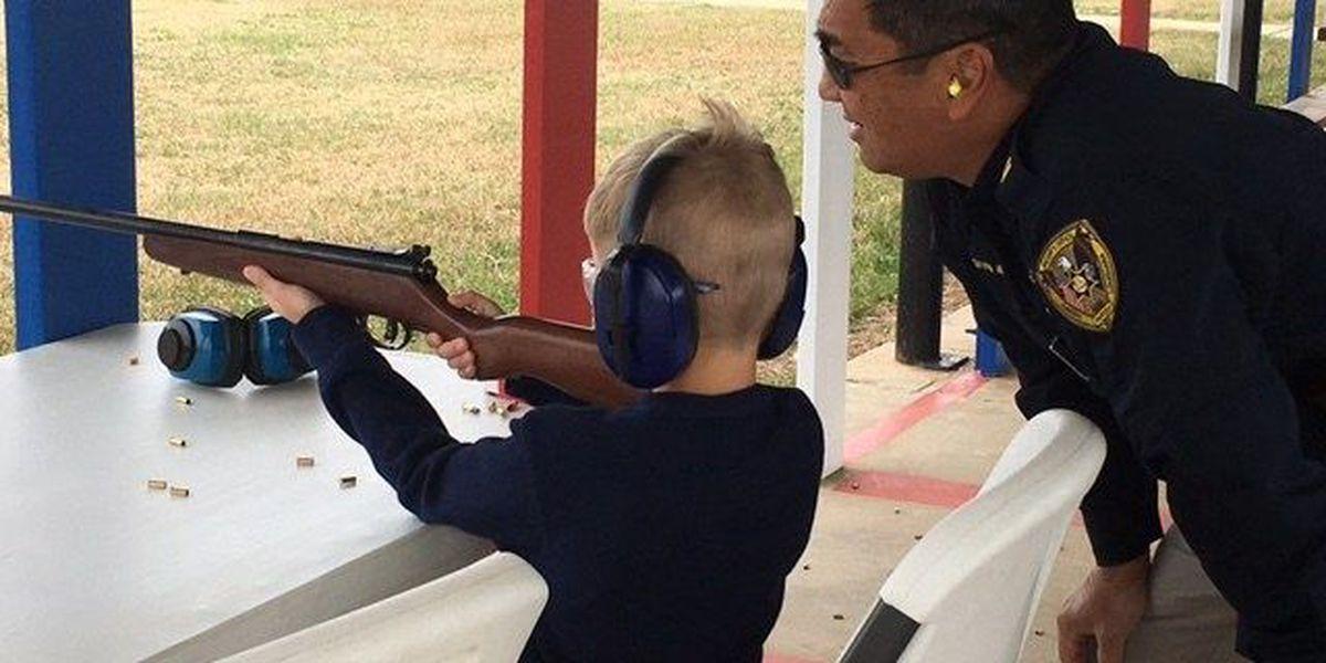 Caddo Sheriff holds first gun class for kids