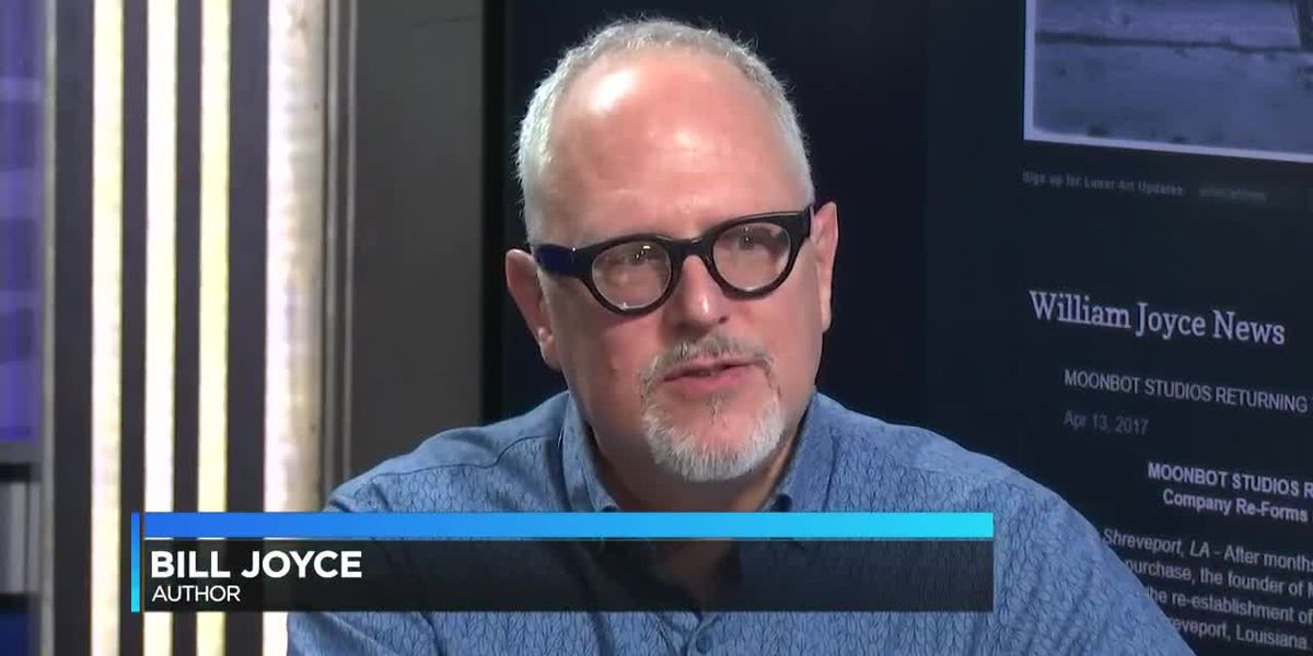 Shreveport author Bill Joyce talks about new studio, book signing