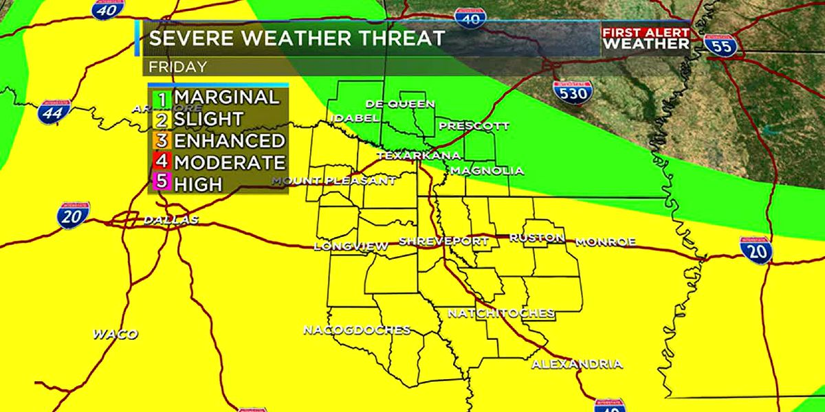 Strong storms return Friday
