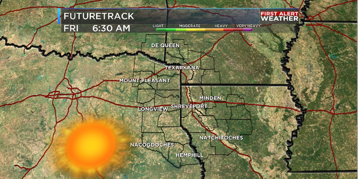 Sunny Friday, Clouds for weekend