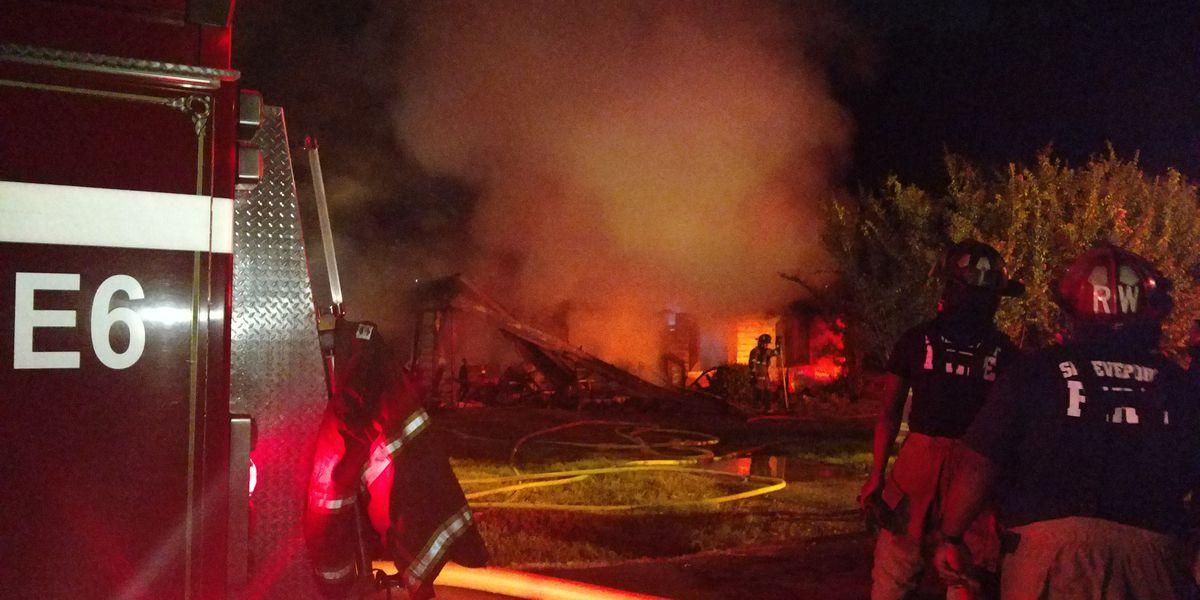 Fire ravages Shreveport home, resident safe