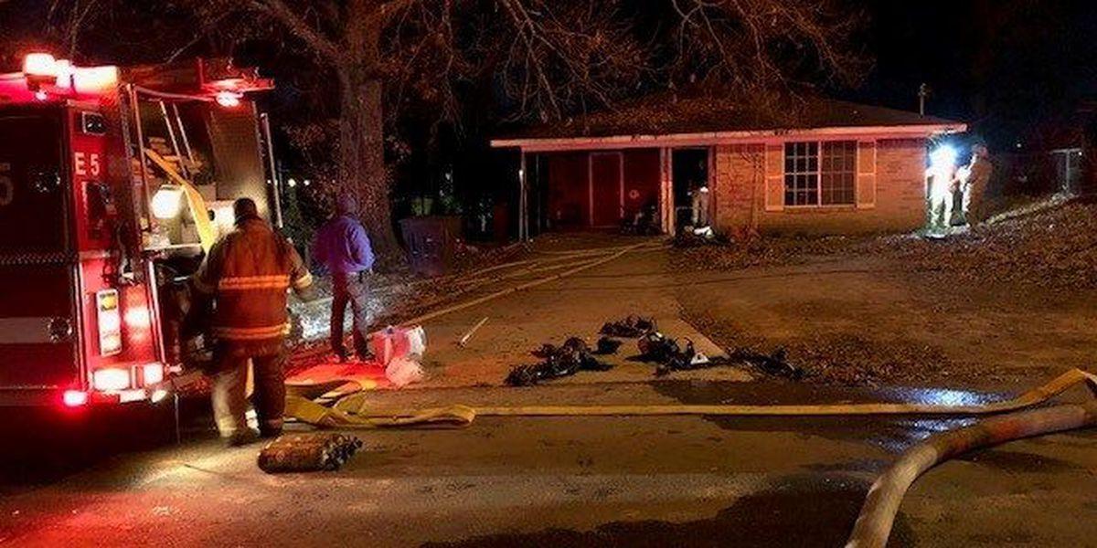 Fire damages vacant house; investigators suspect arson