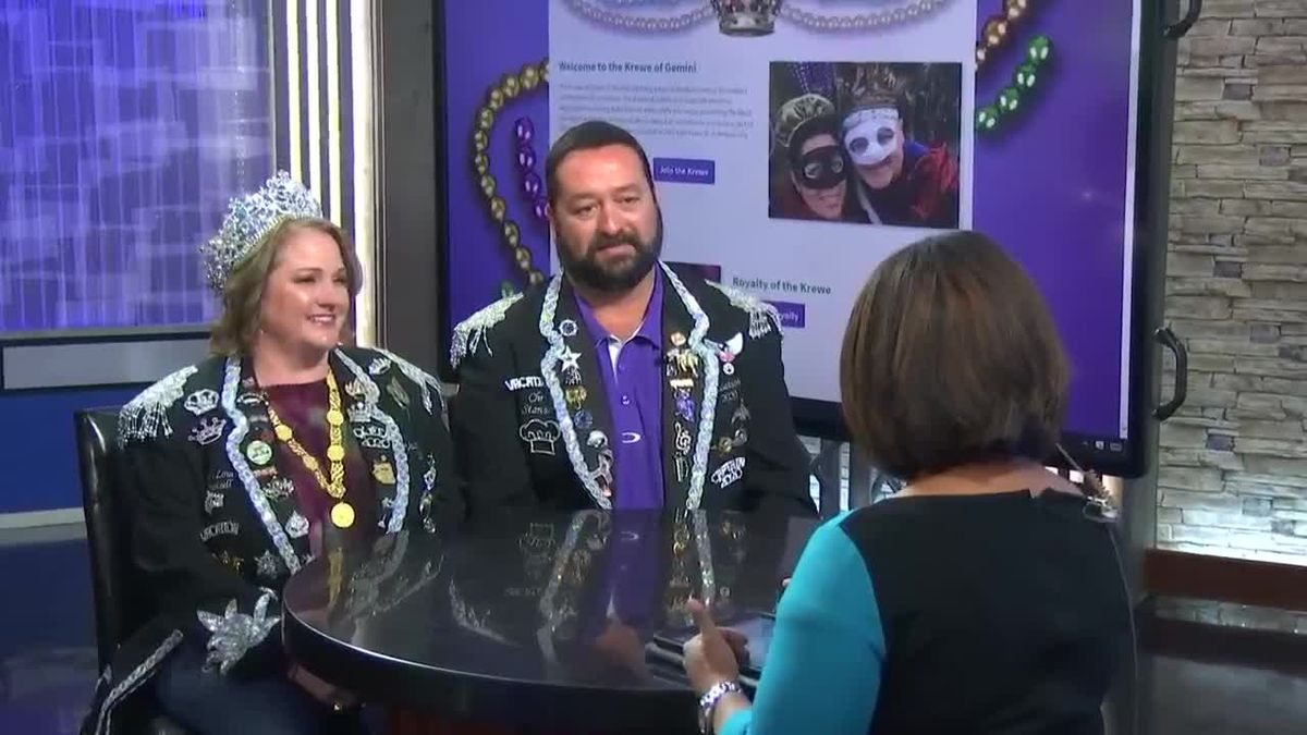 Krewe of Gemini Captain, Queen talk about upcoming Mardi Gras events