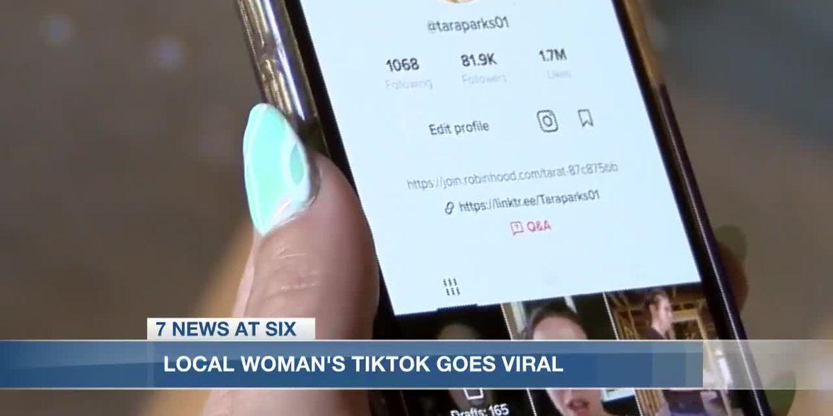Lake Charles woman brings hurricane recovery awareness on TikTok
