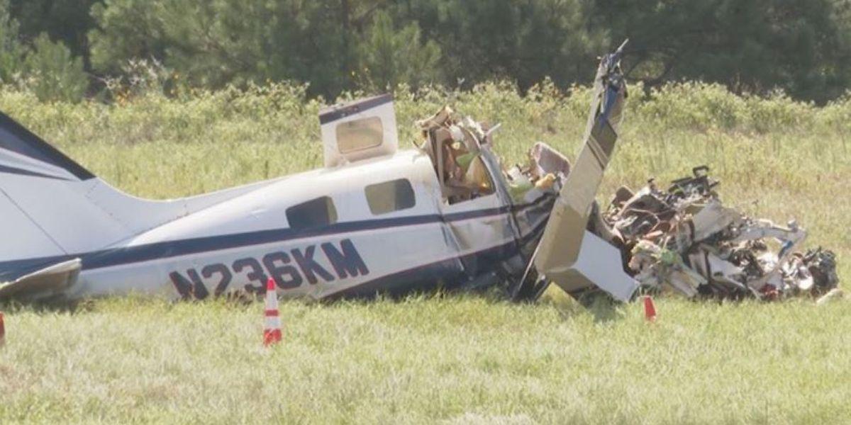 4 die when plane bound for Louisiana crashes in Texas
