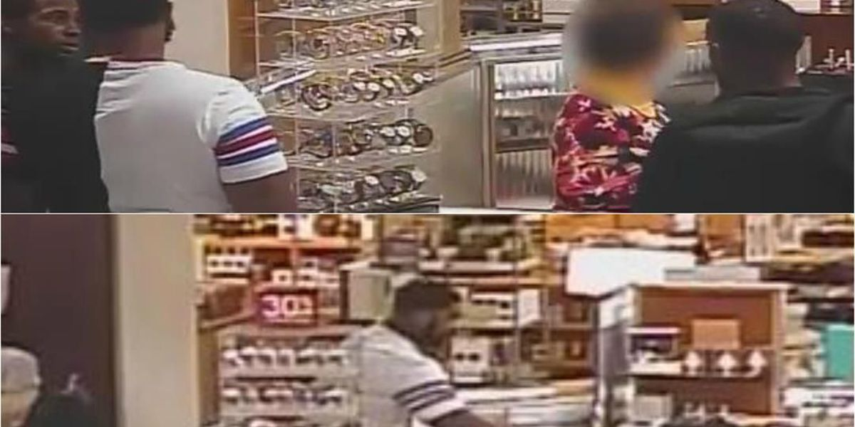 Police share surveillance video to help ID 3 suspected in theft