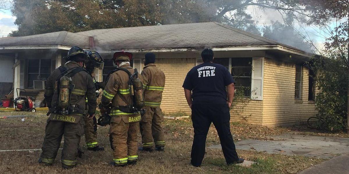 Shreveport firefighters working to extinguish fire in Hyde Park neighborhood