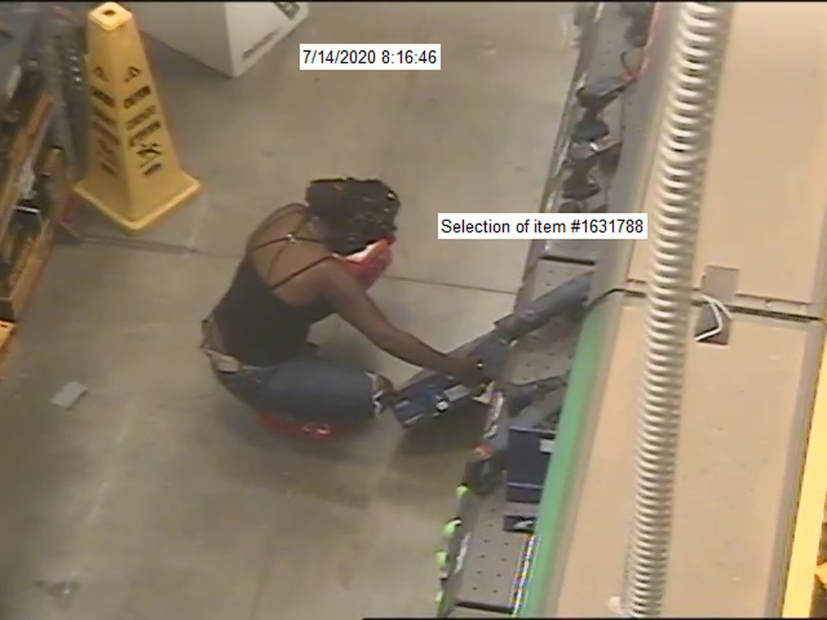 Woman wanted for shoplifting