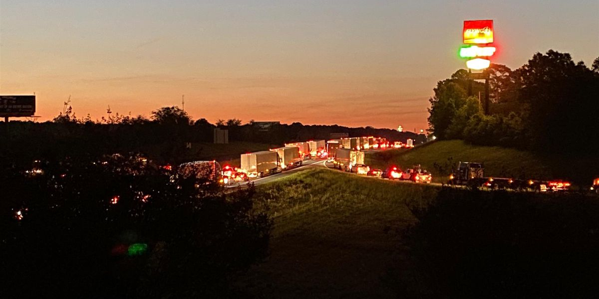 I-20 E in Greenwood reopened after wreck