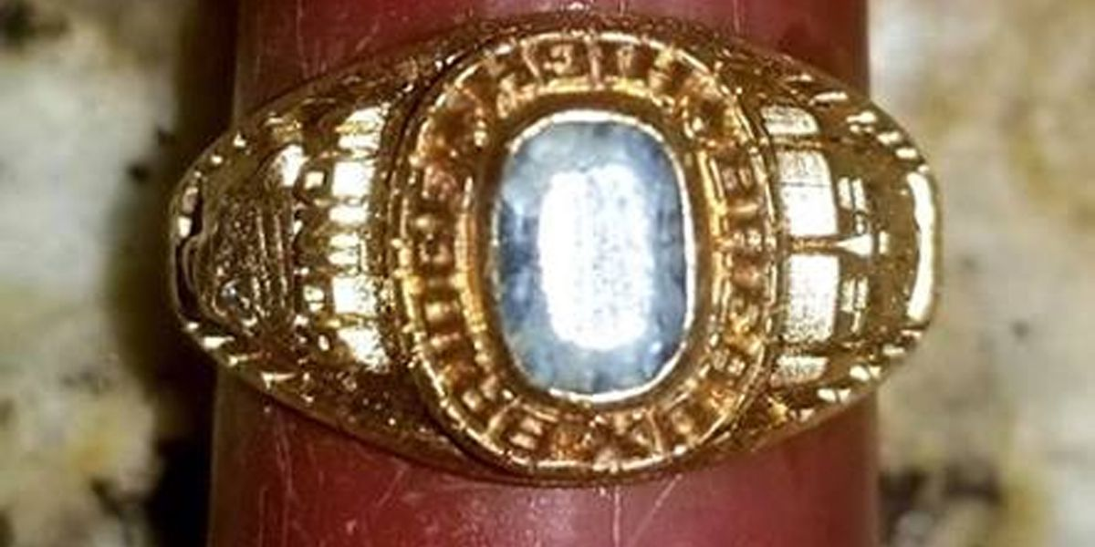 Ring dropped down drain to be reunited with owner 27 years later