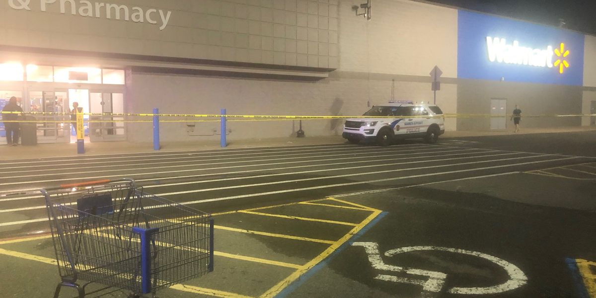 Truck hits pedestrian outside Walmart then leaves