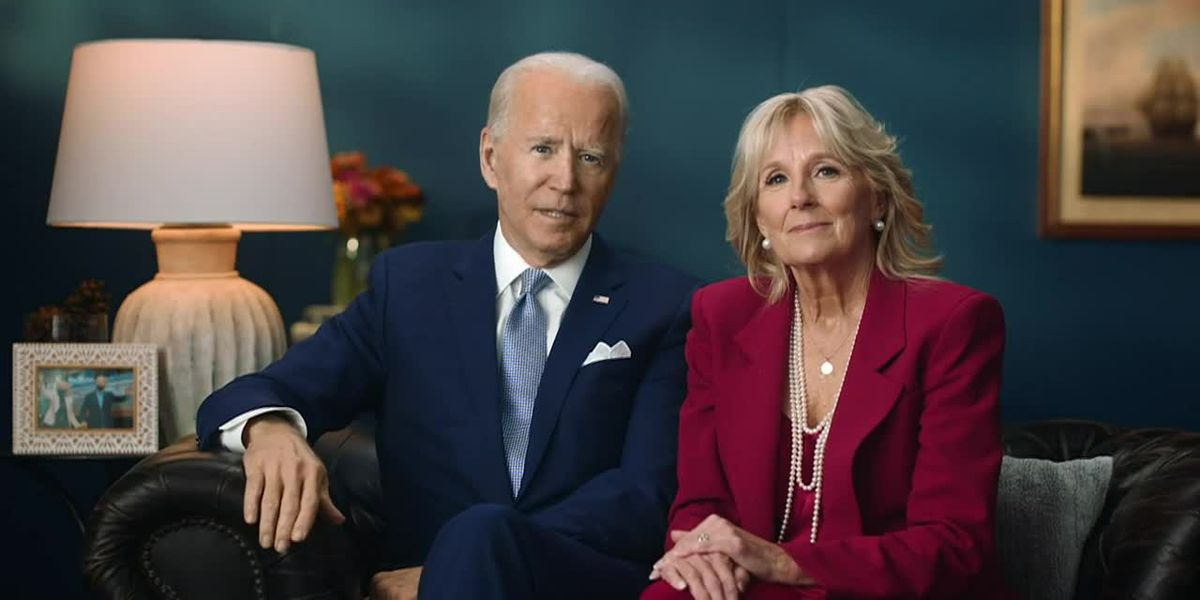 Bidens Thanksgiving message: Better days coming