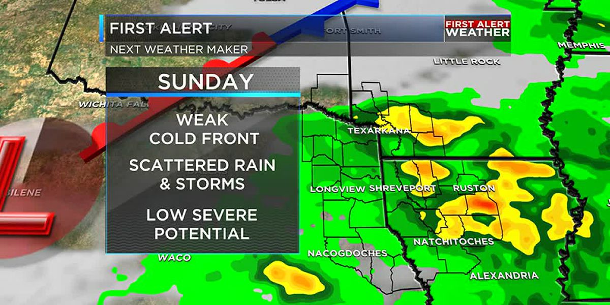 Severe threat done; drier weather moves in