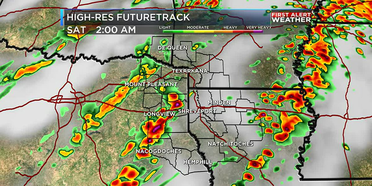 Overnight strong storms followed by tumbling temperatures