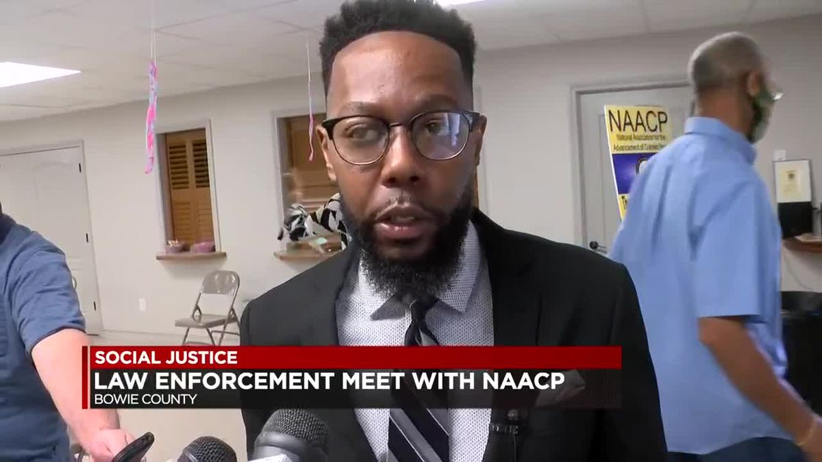 Bowie County NAACP members meet with met with county and Texarkana, Texas, officials