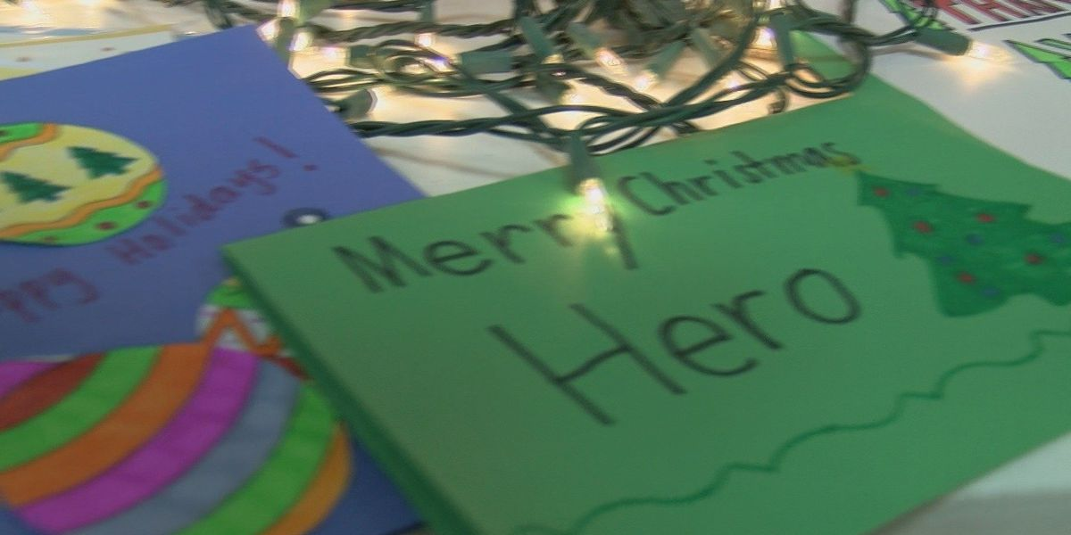 Holiday Mail for Heroes sends letters across the world