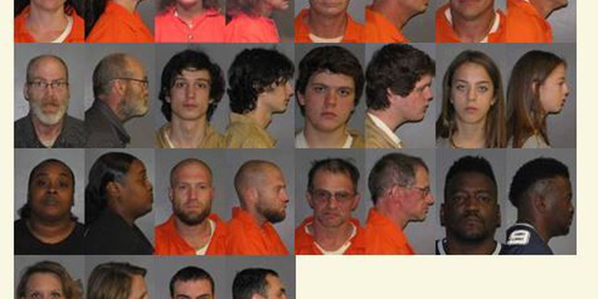 Drug sting in east Shreveport results in 26 facing charges