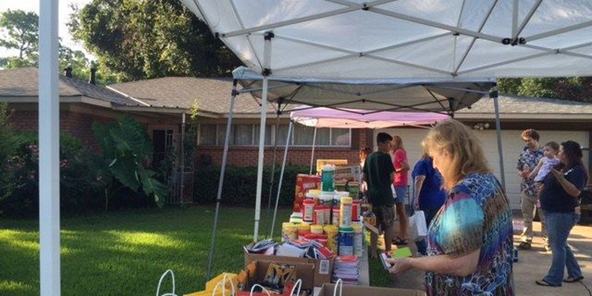 Broadmoor residents supply officers with snacks, water