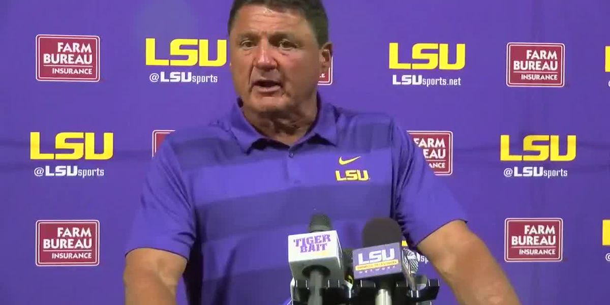 Coach O gives update on Tigers' progress in fall camp