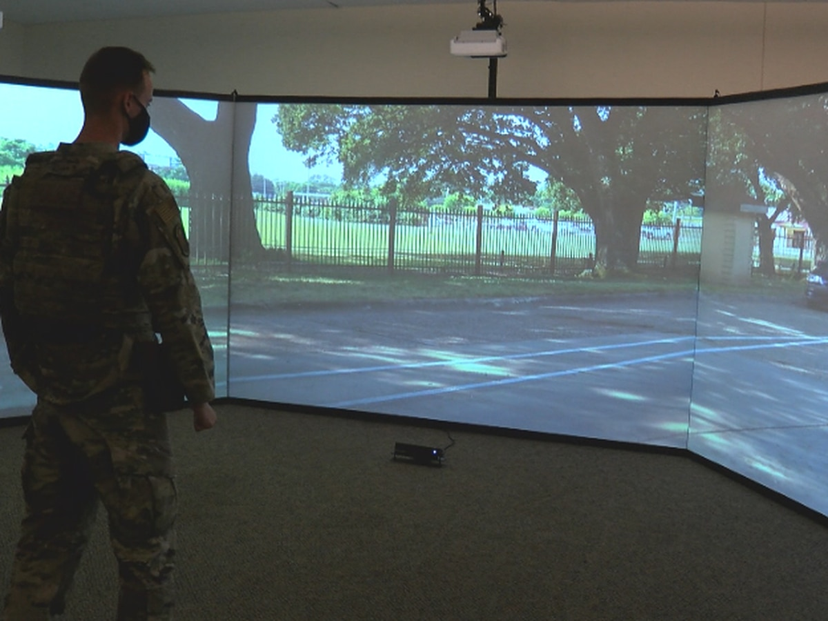 KSLA Salutes: Behind the scenes of 2nd Security Squadron's training