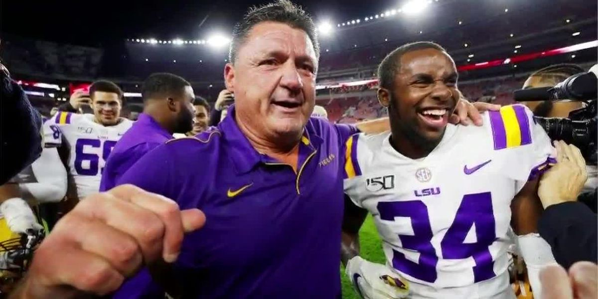SEC Championship: Lloyd Cole's journey to LSU