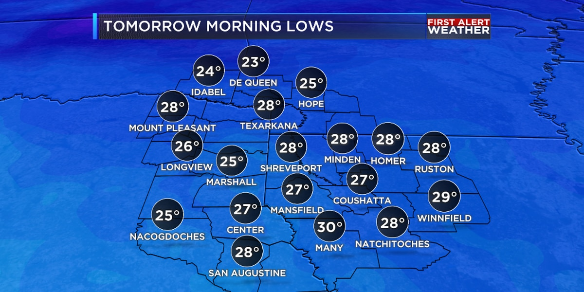 Slow warming trend begins Wednesday