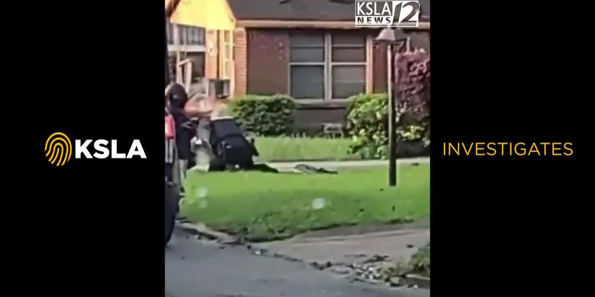 GRAPHIC: Minden PD officers seen on video kicking, punching man on ground - Pt. 1