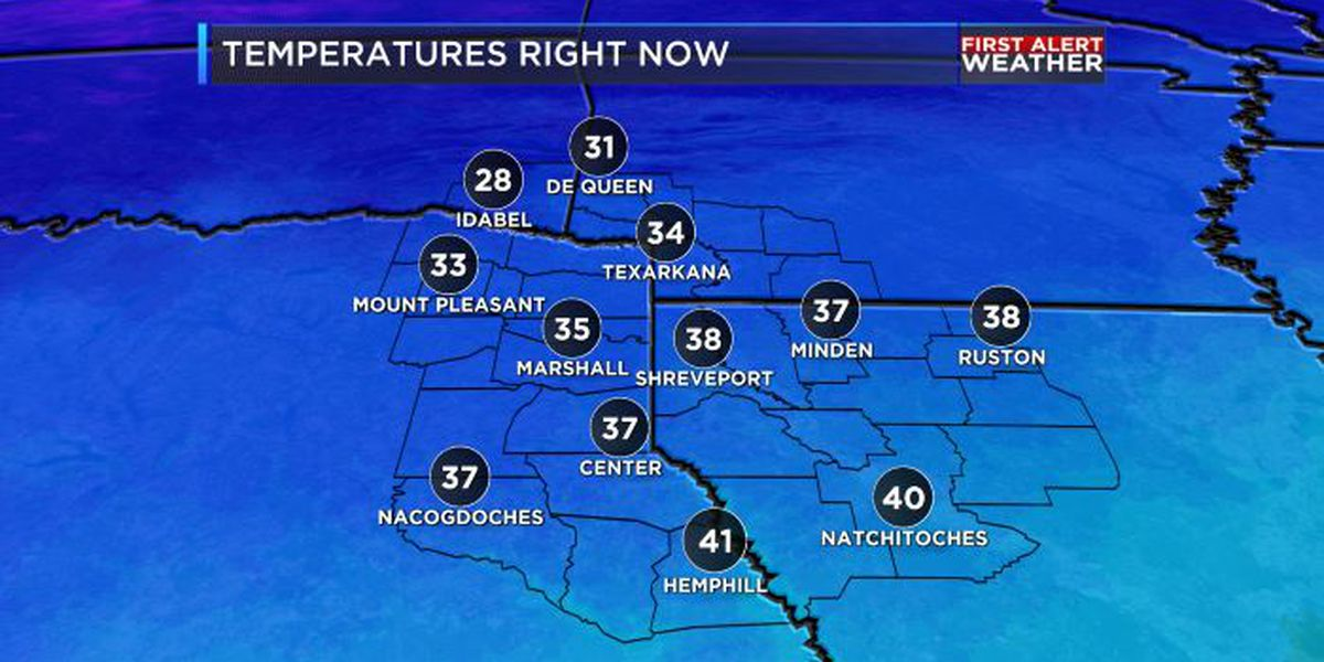COLD and WINDY for Christmas Eve