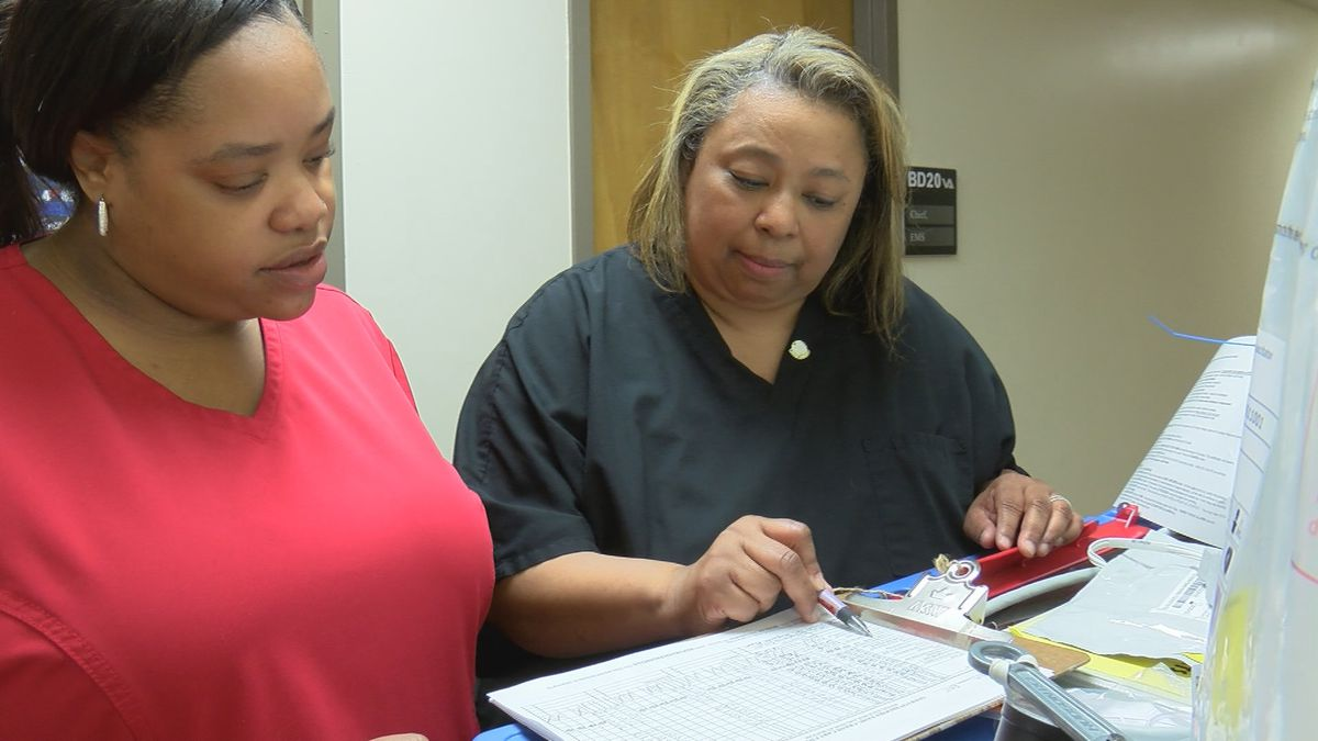 Service with a smile; Celebrating OBVAMC Nurse