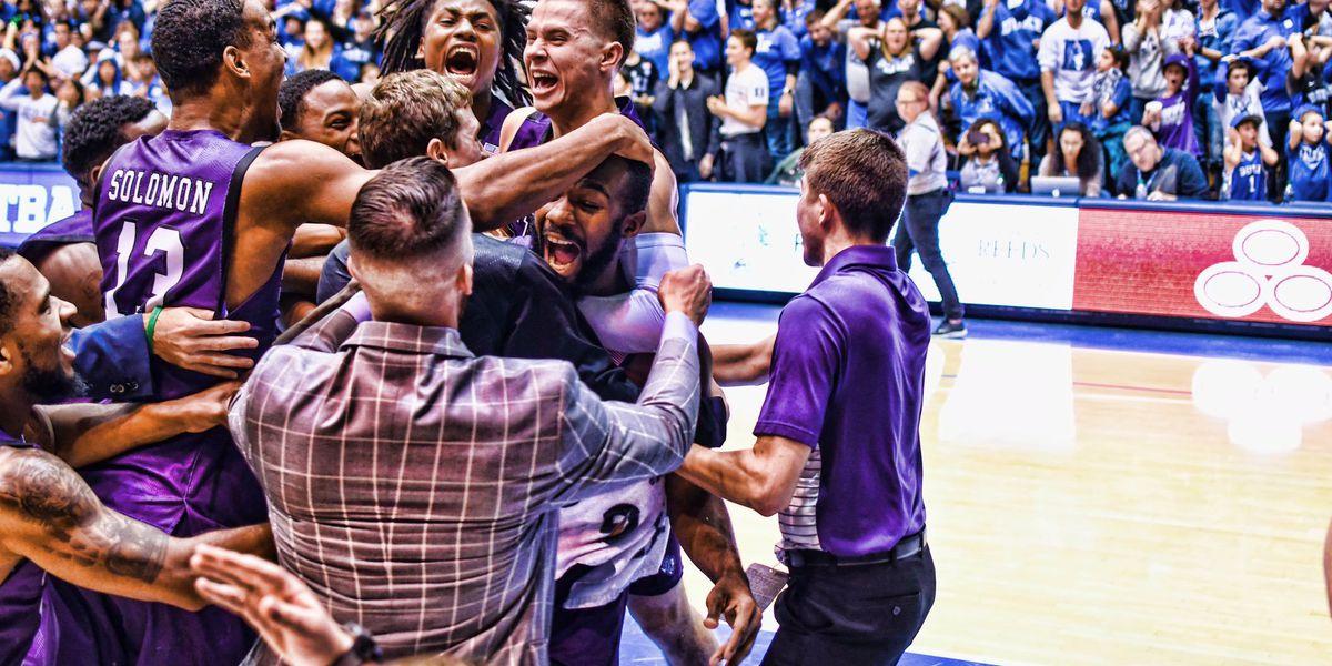 SFA makes history beating no.1 Duke in OT
