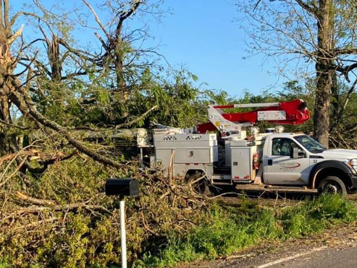 A few thousand remain without electricity in wake of storms