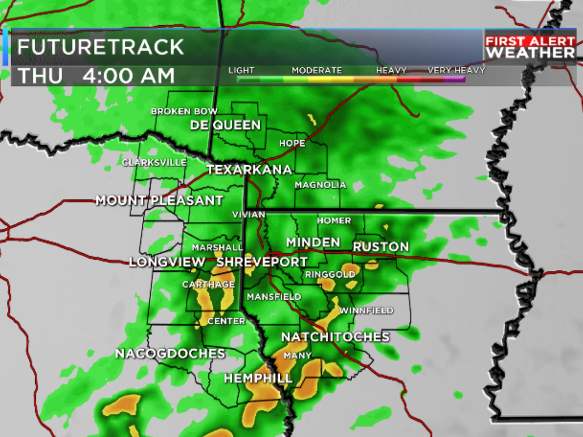 FIRST ALERT: Next rain maker set to move in late Wednesday through Thursday